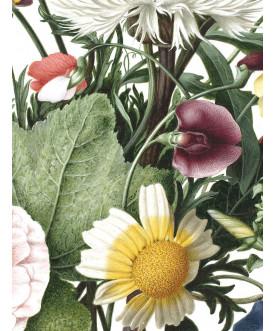 Tapeta Circle Wild Flowers,...