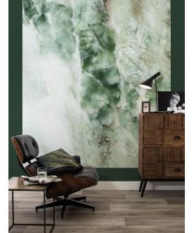 Tapeta Panel Marble green,...