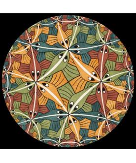 Przycisk do papieru II, Escher