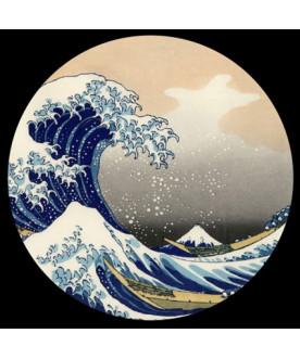 Przycisk do papieru, Hokusai