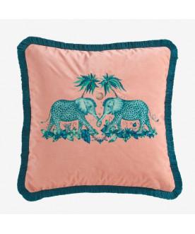 Poducha w słonie Zambezi Pink