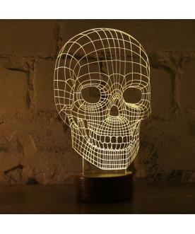 Lampa Bulbing  Skull Cheha...