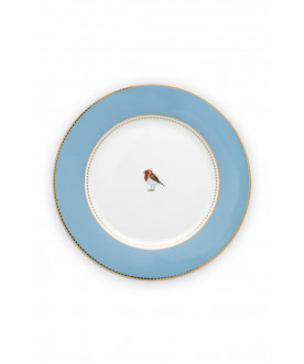 Love Birds Blue 21cm, PIP...