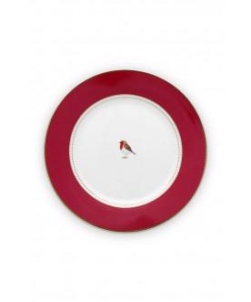Talerz Love Birds Red 21...