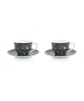 Set/2 Espresso Cups &...