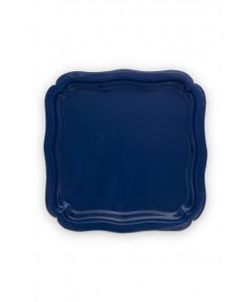Taca Square Enamelled Blue,...