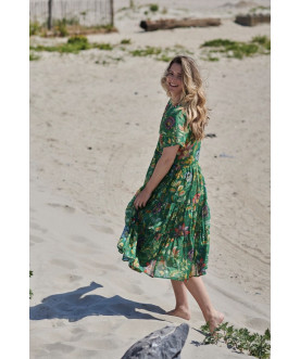 Sukienka Exotic Garden Green