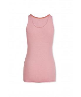 Top Shiny Stripes Pink