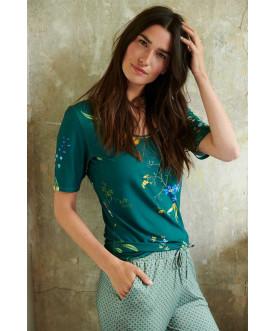 Koszulka Fleur Grandeur Green