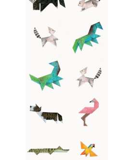 Tapeta Tangram Animals KEK...