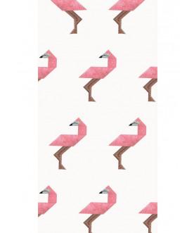 Tapeta Tangram Flamingo KEK...