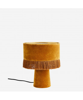 Lampa stołowa Velvet yellow