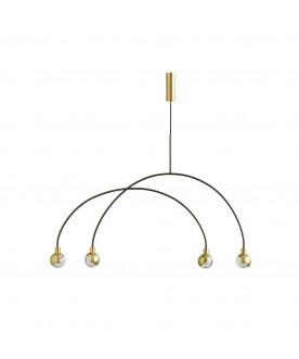 Lampa wisząca Mobile - Brass