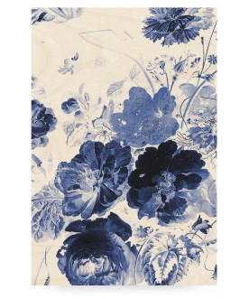 Obraz Royal Blue Flowers 2,...