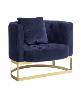 Fotel Nord dark blue