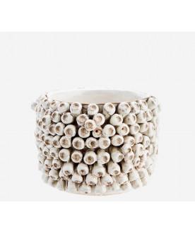 Ceramiczny wazon Shell