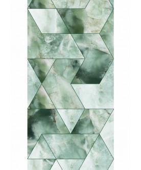 Tapeta Marble Mosaic, Green...