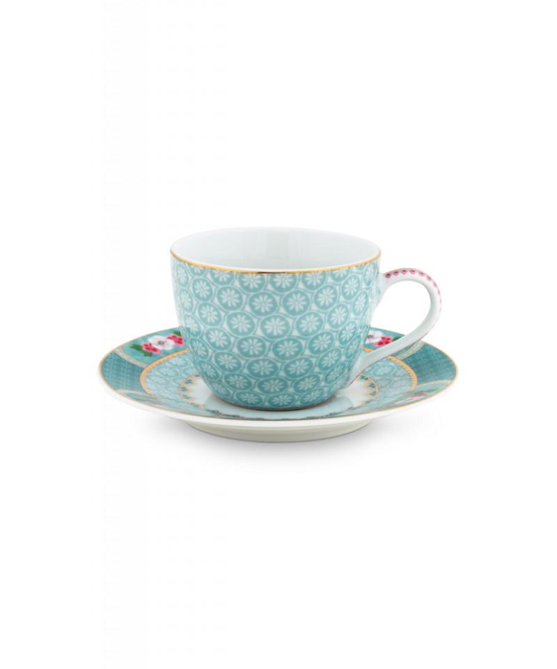c536a69988 Filiżanka espresso z kolekcji Blushing Birds Pip Studio wykonana z  wysokogatunkowej porcelany