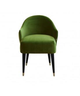 Fotel Emi Velvet zielony