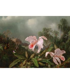 Obraz na drewnie Floral...