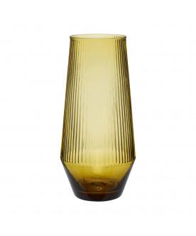 Szklany wazon Yellow