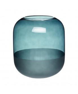 Szklany wazon Ocean blue