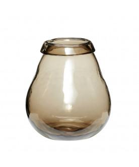 Szklany wazon Vintage