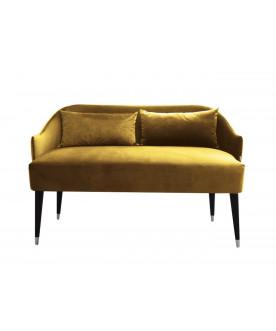 Sofa Emi Velvet złoty