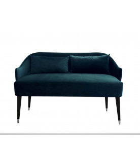 Sofa Emi Velvet zieleń morska