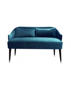 Sofa Emi Velvet niebieska