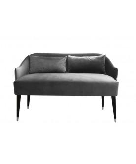 Sofa Emi Velvet szara