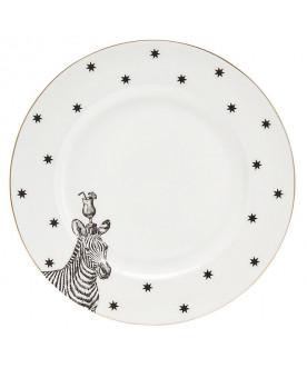 Talerz Monochrome Zebras...
