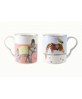 Kubki Giraffe/Elephant ,...