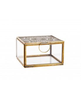 Szklane pudełko Carvings M,...