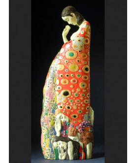 Figurka HOPE II, Gustav Klimt