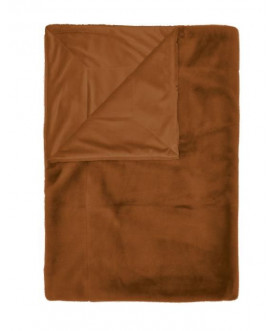 Pled Furry leather brown