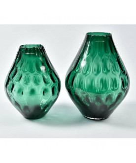 Szklany wazon Ocean Green