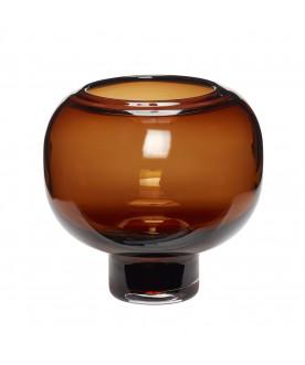 Szklany wazon Amber
